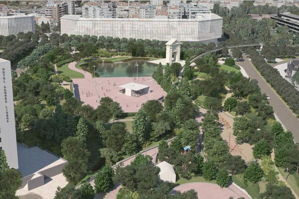 Praça de Espanha Urban Park