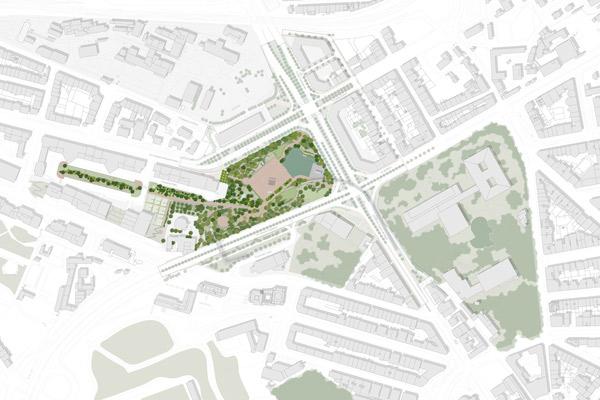 Parque Urbano da Praça de Espanha