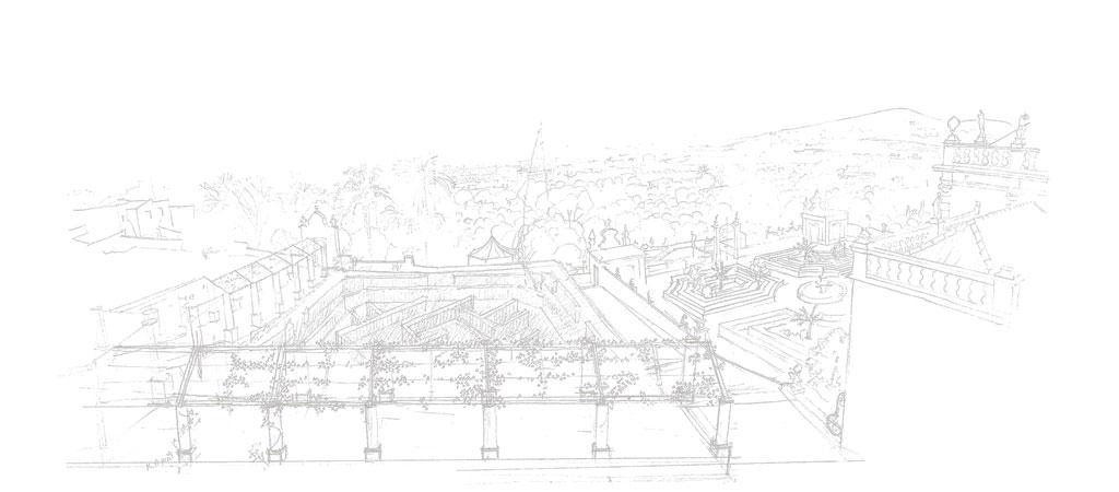 Jardins da Pousada do Palácio de Estói